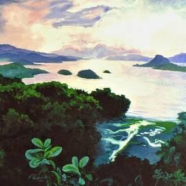 Sunset on Amakusa by Rose Wark