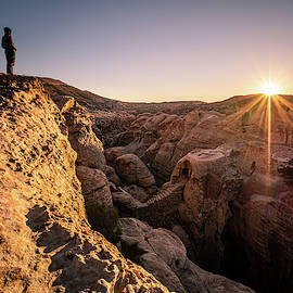 Sunset on Petra - Jordan - Travel Photography by Giuseppe Milo