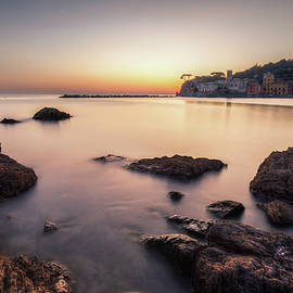 Sunset on the Bay of Silence by Giovanni Laudicina