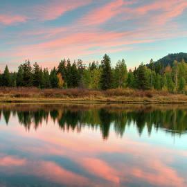 Sunset on the Snake River by Steve Stuller
