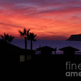 Sunset over Coronado by Inez Ellen Titchenal