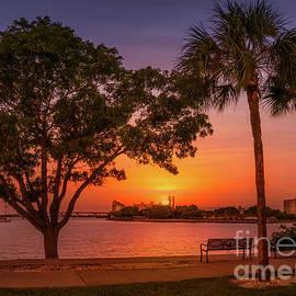 Sunset over Sarasota Bay, Florida by Liesl Walsh