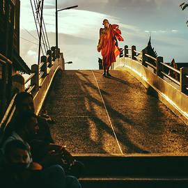 Sunset path by Pavel VKhon
