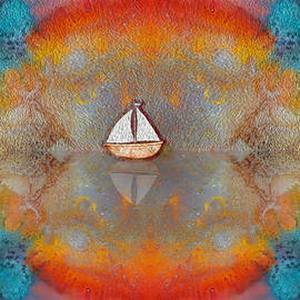 Sunset Sail by Mary Poliquin - Policain Creations