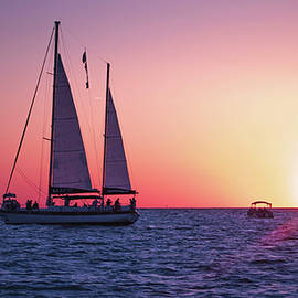 Sunset Sail View by Spencer Witherspoon