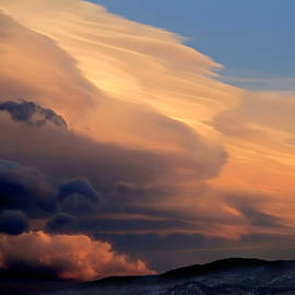 Sunset Sierra Wave by Donna Kennedy