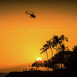 Sunset Silhouette by Derek Winters