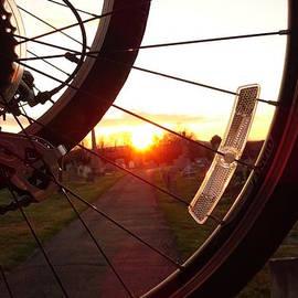 Sunset Spoke by GJ Glorijean