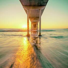 Sunset Sunbeams by Joseph S Giacalone