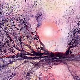 Sunset Swamp by Sabina Von Arx