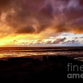 Sunset Through the Rain Clouds by Craig Wood