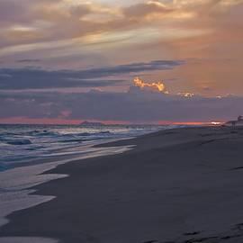 Sunset Toward Ni'ihau Kauai by Heidi Fickinger