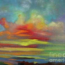 Sunset Tropics 11 by Jenny Lee