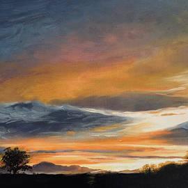 Sunset Volcano by Bobby Walker