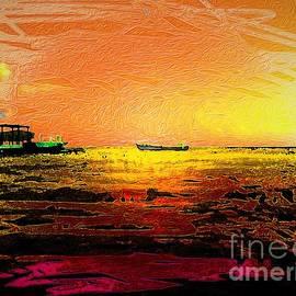 Sunset Waters 2 by Aldane Wynter