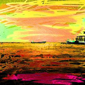 Sunset Waters 3 by Aldane Wynter