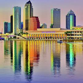 Suntastic Reflection in Tampa by Frozen in Time Fine Art Photography