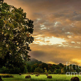 Sunup at the Farm by Alana Ranney