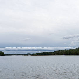 Super Cool Roll Cloud - Unique Formation over Lake Manitou on Manitoulin Island by Georgia Mizuleva