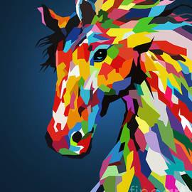 Wild Wild horse  by Mark Ashkenazi