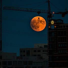 Super moon by John Schultz