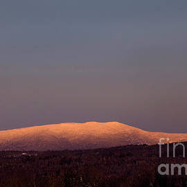 Super Moon Saddleback Mountain by Alana Ranney
