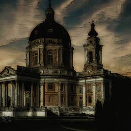 Basilica of Superga Turin Italy by Rita Di Lalla