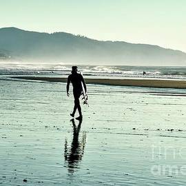 Surfer by Beautiful Oregon
