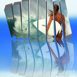 Surfer Girl Returns To Maui by Bob Christopher