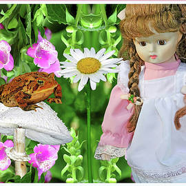 Surreal Doll And Frog Photography by Constance Lowery
