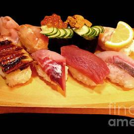 Sushi Lunch by Birgit Moldenhauer