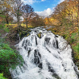 Swallow Falls Snowdonia Wales by Adrian Evans