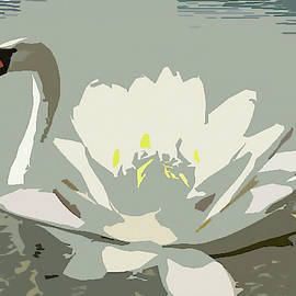Swan-Lotus by Ekaterina Yakshina