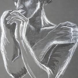 Sweet Memories - Portrait Of A Woman by Carmen Tyrrell