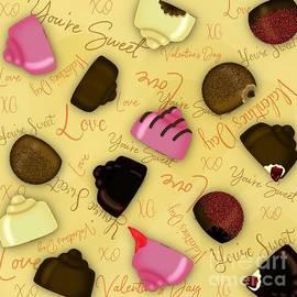Sweet Valentine - Valentine's Day Candy Pattern by Colleen Cornelius