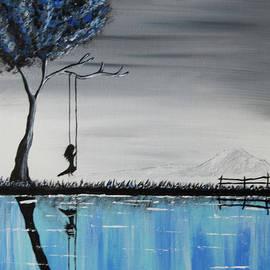 Swinging by Deborah Klubertanz
