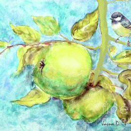 Swinging With Apples by Jasna Dragun