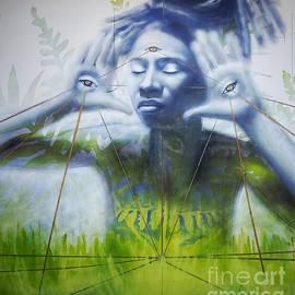 Tacoma street art mural by Marie-Elaina Reichle HCA CPhT