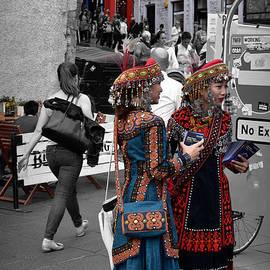 Taiwan Dancers - Edinburgh Festival Fringe by Yvonne Johnstone