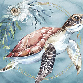 Take Your Time - Turtle Art by Jordan Blackstone
