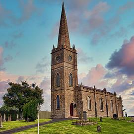 Tamflaght-Finlagan Church Of Ireland by Marcia Colelli