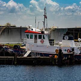 Tampa Bay Tug Boat by Mark Fuge