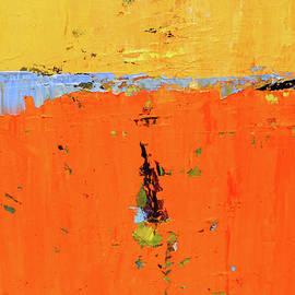 Tangerine Earth by Nancy Merkle