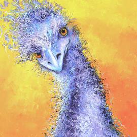 Tangled Hair, Don't Care - Emu by Jan Matson