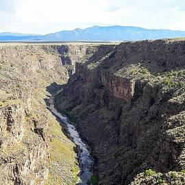 Taos Gorge by Georgia Threet