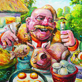 Tasty Cossacks by Sergei Kotlobai