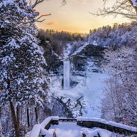 Taughannock Falls In Winter by Mark Papke
