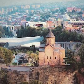 Tbilisi Cityscape 2 by Claude LeTien