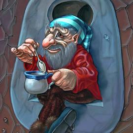 Tea in Keyhole by Victor Molev