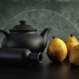 Teapot with Pears by Tom Mc Nemar